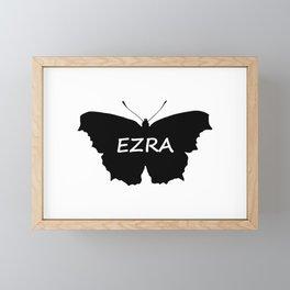 Ezra Butterfly Framed Mini Art Print