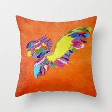 Cacatuidae Throw Pillow