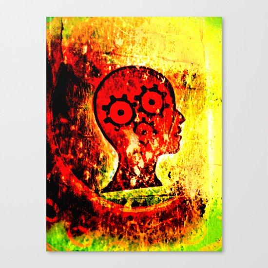 heads high. Canvas Print
