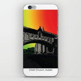 Christ Church Cathedral, Dublin iPhone Skin