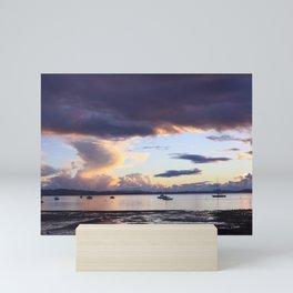 New Zealand Sunset Mini Art Print