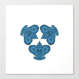 Hyperdimensional Trinity Canvas Print