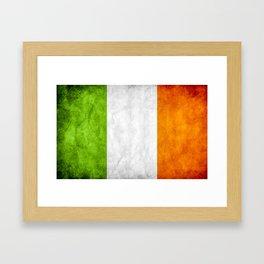 TriColour of Ireland bywhacky Framed Art Print