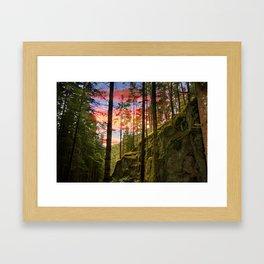 World. Framed Art Print