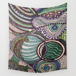 EMERGING WAVES Wall Tapestry