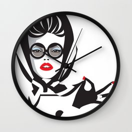 Headscarf Wall Clock