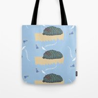 nausicaa Tote Bags featuring ohmu! by nisimalotse
