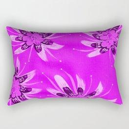 Violet Aria Rose Rectangular Pillow