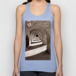 Corridors of Stone Unisex Tank Top