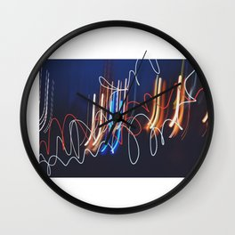 las luces de Morelia Wall Clock