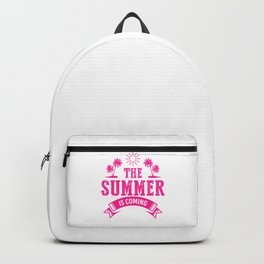 The Summer Is Coming mag Backpack