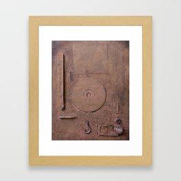 Informel Nostalgia in Post Art Vacuum Framed Art Print