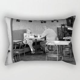 Don't look... Rectangular Pillow