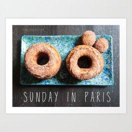 Photo: Sunday in Paris (19 May 13) Art Print