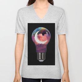 Moon Light Unisex V-Neck