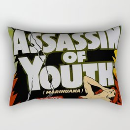 Anti-hemp old poster Rectangular Pillow
