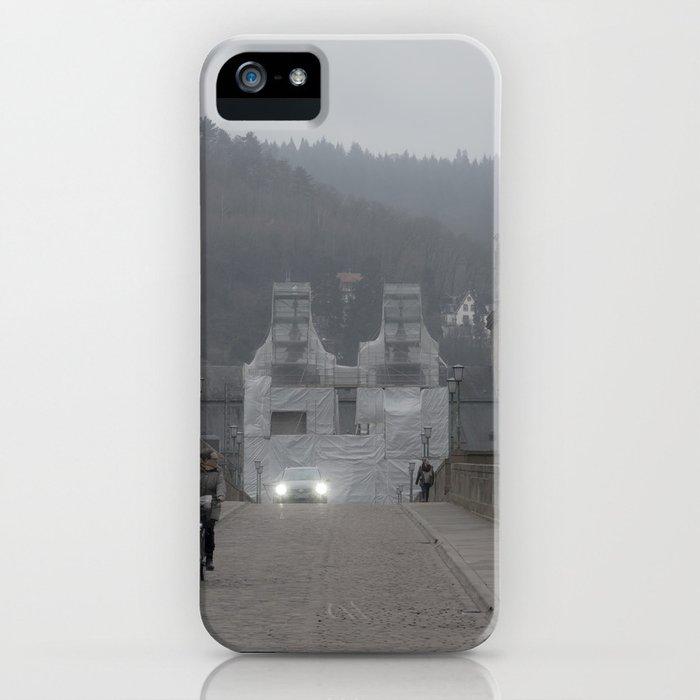 Heidelberg Cyclist iPhone Case