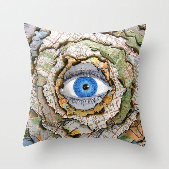 Seeing Through Illusions  Throw Pillow
