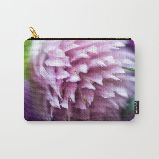 Bright-Pink Flower #1 #art #society6 Carry-All Pouch