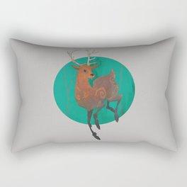 Autumn Stag Rectangular Pillow