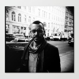 NYC holga portraits 3 Canvas Print