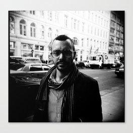 NYC holga portraits 3 Canvas Print
