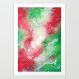 Holly Galaxy Art Print
