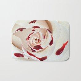 Bleeding Rose Macro Bath Mat