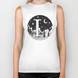 Midnight L Biker Tank