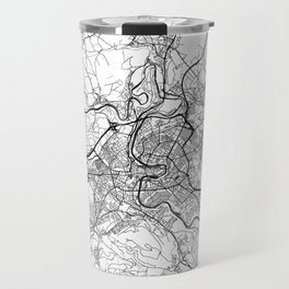 Bern Map Gray Travel Mug