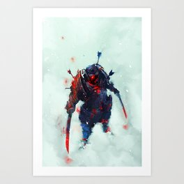 Samurai Spirit II Art Print