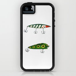 Vintage Fishing Lures 2 iPhone Case