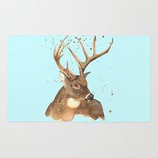 Ice Reindeer Rug