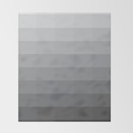 Fifty Shades Of Grey as Color Throw Blanket