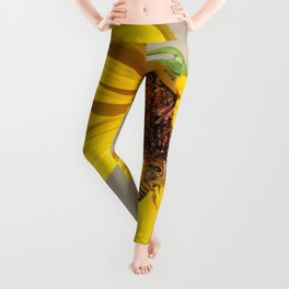 Desert Sunflower Pollen Shop Leggings