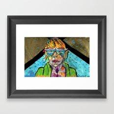Uranium Girl Framed Art Print