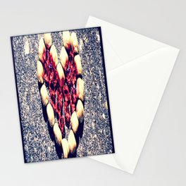 Rock Heart Stationery Cards
