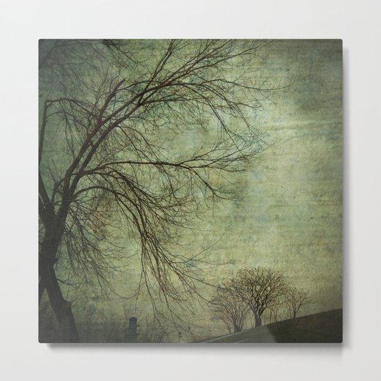 Mysterious Trees Metal Print