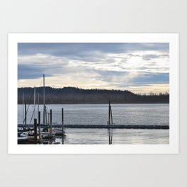 waiting to ex sail Art Print
