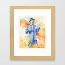 Frank S Framed Art Print