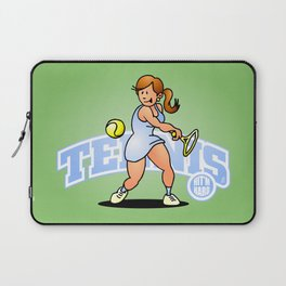 Tennis, Hit'm hard Laptop Sleeve