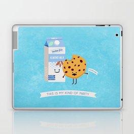 Milk and Cookie Laptop & iPad Skin