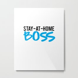 mom boss Metal Print