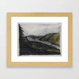 Chattanooga Framed Art Print