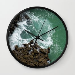 Green Ocean Atlantique Wall Clock