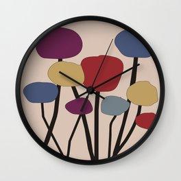 Quirky Tree Art Wall Clock