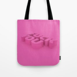 EFF YOU Tote Bag