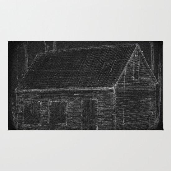 """The Mathers House"" by Matthew Vidalis Rug"