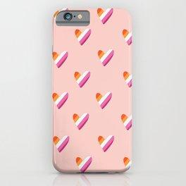 Lesbian Flag iPhone Case