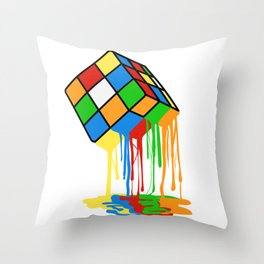 Love Brick games? Fan of Rubrik's Cube? Found the perfect tee for you! Makes a nice gift too! Throw Pillow